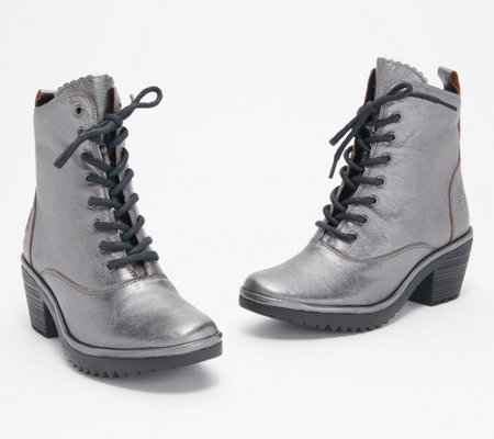 London Leather Lace Wune Fly Up — Boots YfIb7v6yg