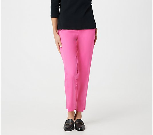 Isaac Mizrahi Live! Special Edition Petite 24/7 Stretch Ankle Pant