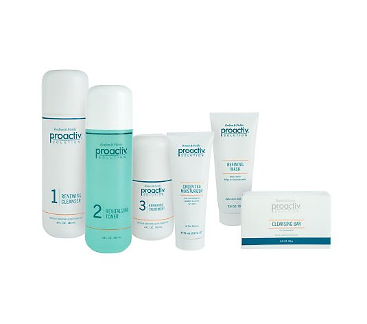 Proactiv Super Size 4 Pc Advanced Acne Treatment Kit W 2 Bonuses Qvc Com