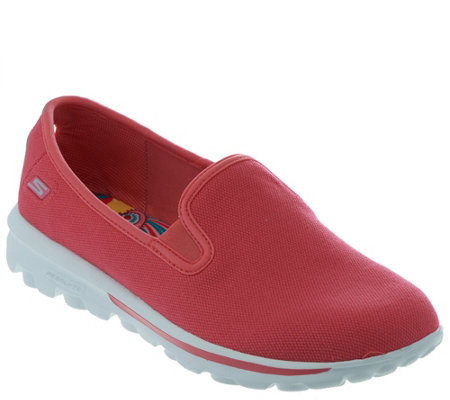 Skechers GOwalk Canvas Slip-on Sneakers - Cadence