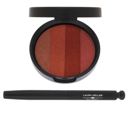 Dream Creams Lip Palette With Retractable Lip Brush - Sunswept by Laura Geller #8
