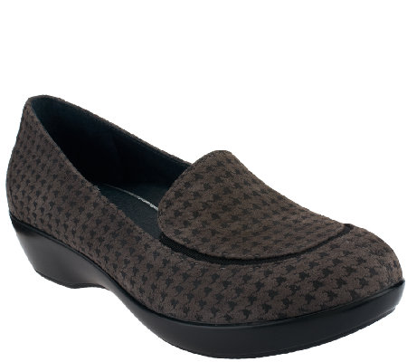 Dansko Leather Slip-On Shoes - Debra