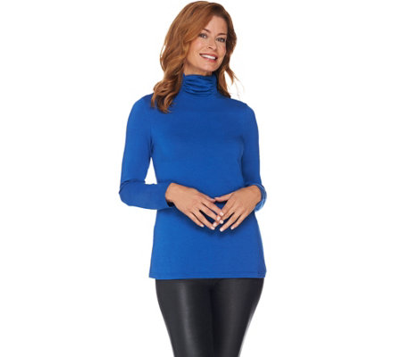 Susan Graver Weekend Modern Essentials Stretch Cotton Modal Top