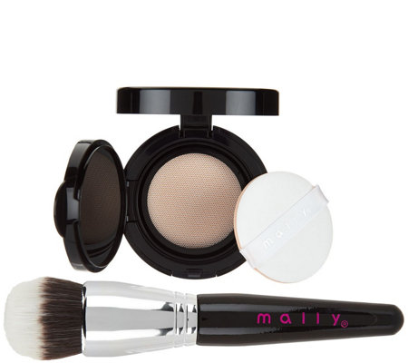 Mally Flawless Finish Transforming Foundation w/ Brush