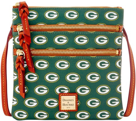 Dooney & Bourke NFL Packers Triple Zip Crossbody