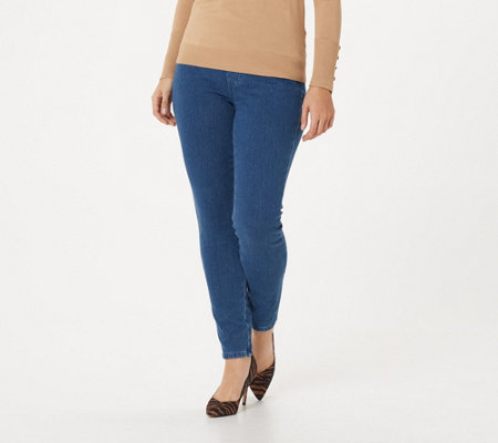 Belle By Kim Gravel Flexibelle Jeggings W Pockets Petite