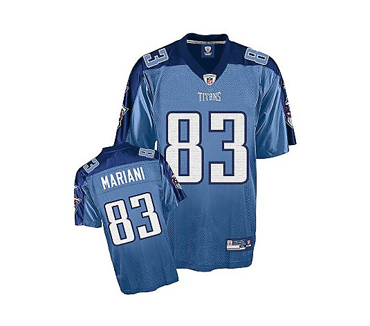 NFL Tennessee Titans Marc Mariani Replica TeamColor Jersey - QVC.com