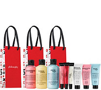 philosophy nine-piece bath & body gifting collection - A341868