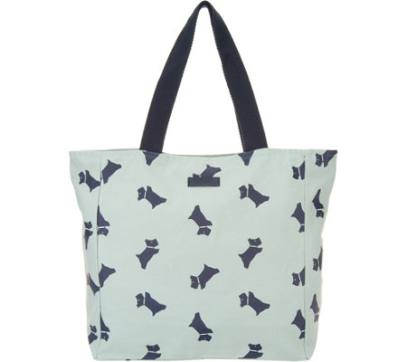 RADLEY London Canvas Tote Bag - Dog Print