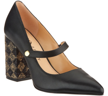 As Is Katy Perry Leather Pointed Toe Mary Janes The June