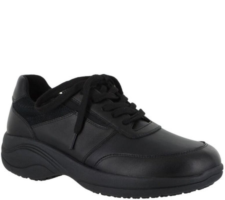 Easy Works by Easy Street Oxford Work Shoes - Middy