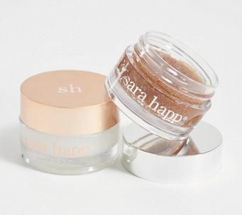Sara Happ Simply Vanilla Lip Slip and Scrub Holiday Box - A373968