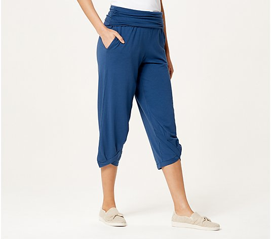 AnyBody Cozy Knit Harem Pant