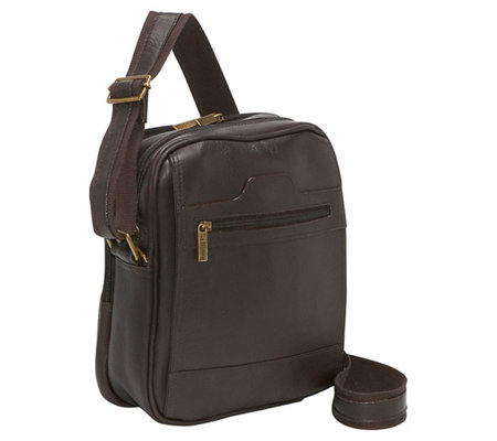 Le Donne Leather Mens Day Bag
