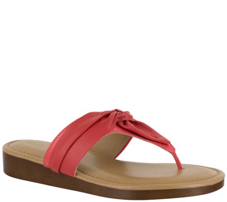 Tuscany by Easy Street Thong Sandals - Maren