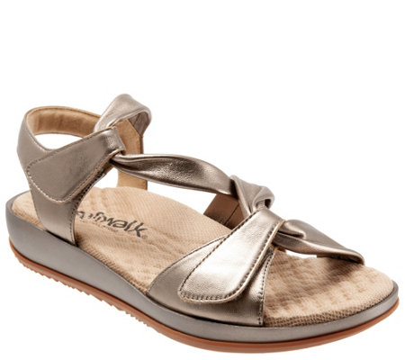Softwalk Leather Sandals Del Rey