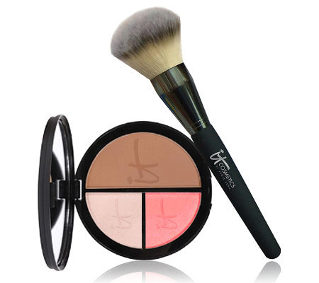 It Cosmetics Anti-Aging & Brightening Face Disc w/ Luxe Brush