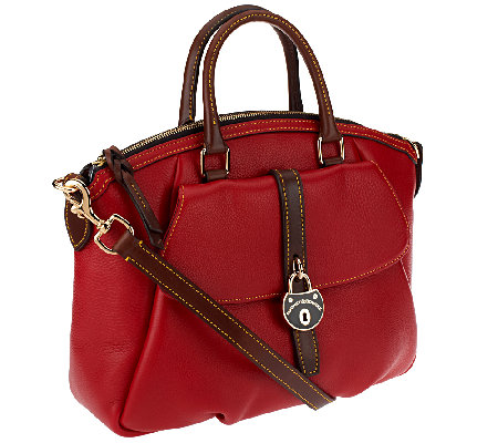 Dooney & Bourke Samba Leather Large Satchel
