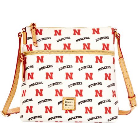 Dooney & Bourke NCAA University of Nebraska Crossbody