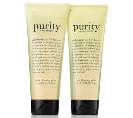 philosophy purity foaming cleansing gel duo