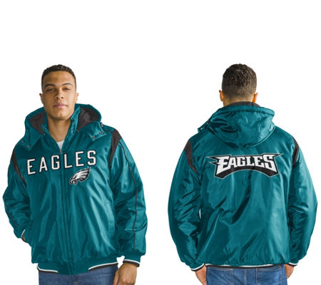 """As Is"" NFL Polyfil Detachable Hood Jacket"