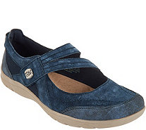 Earth Origins Suede Slip-On Shoes- Rapid Troy - A349369