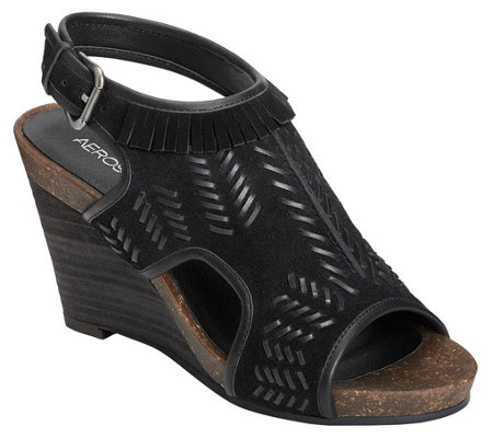 Aerosoles Wedge Sandals - Waterfront