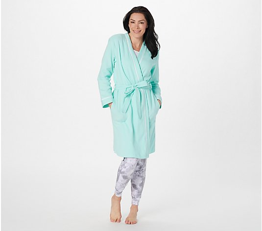 Carole Hochman Midi Length Wrap Spa Robe
