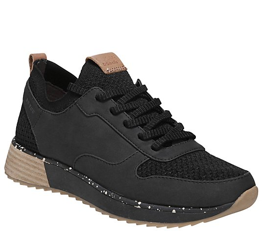 Dr. Scholl's Mixed Material Sneakers - Reed