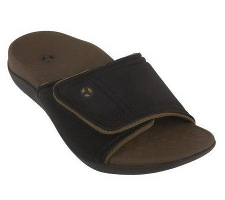 22fa970671a4 Orthaheel Kiwi Slip-on Unisex Orthotic Adj. Sandals - Page 1 — QVC.com