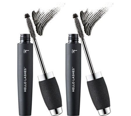 IT Cosmetics Hello Lashes 5-in-1 Volumizing Mascara Duo