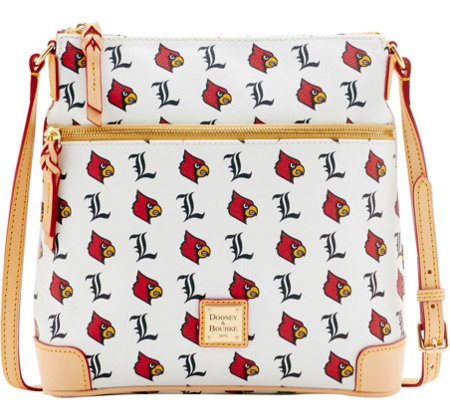 Dooney & Bourke NCAA University of Louisville Crossbody