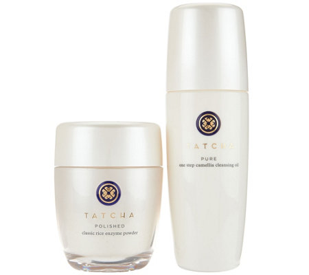 TATCHA Pure Cleansing Oil & Polished Enzyme Powder Duo