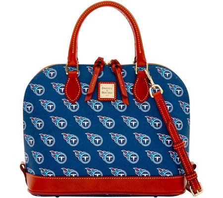 Dooney & Bourke NFL Titans Zip Zip Satchel