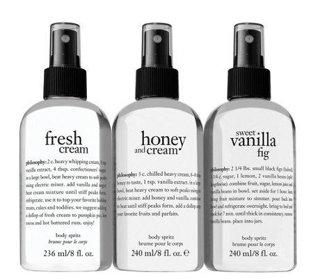 Philosophy Sweet Spritz Trio