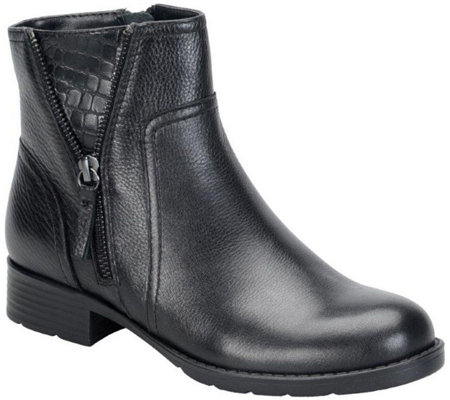Comfortiva Leather Ankle Boots - Val
