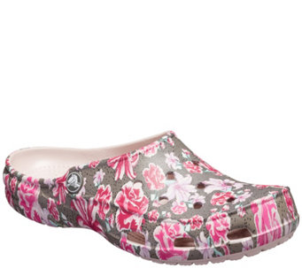 f2cd30644840bd Crocs Graphic Clogs - Freesail Leopard - A357970