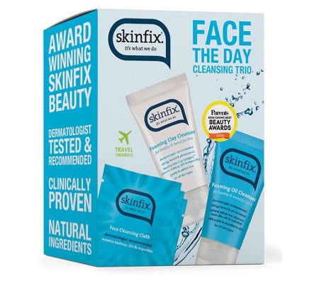Skinfix Face The Day Cleansing Trio
