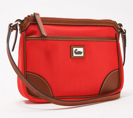 Dooney Bourke Camden Collection Nylon Pocket Crossbody