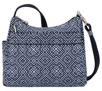 Travelon Anti-Theft Boho Square Crossbody Bag - A428670