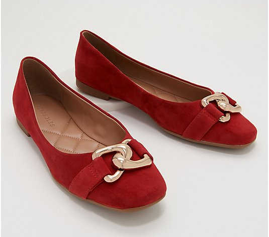 Aerosoles Leather or Suede Ballet Flats - Candice