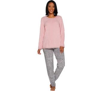Cuddl Duds Fleecewear Stretch Novelty Pajama Set - A297371