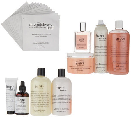 philosophy the ultimate hair, fragrance body & skin 9-piece kit