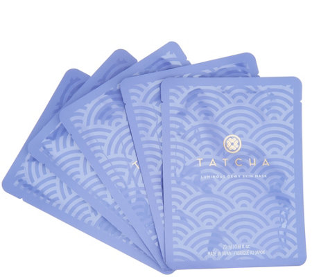 TATCHA Dewy Glowing Skin Set of 5 Sheet Masks