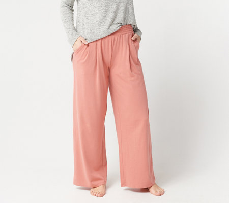 28c7d79f699 AnyBody Loungewear Cozy Knit Wide-Leg Pants. Back to video