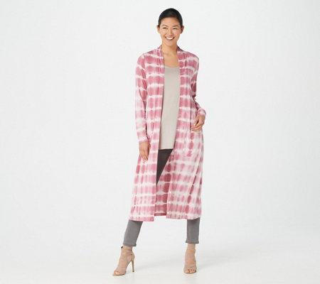Lisa Rinna Collection Tie Dye Duster Cardigan