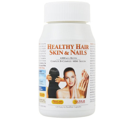 Andrew Lessman Healthy Hair, Skin & Nails 120 Capsules