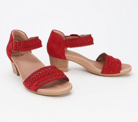 Earth Suede Heeled Sandal Ivy Seneca