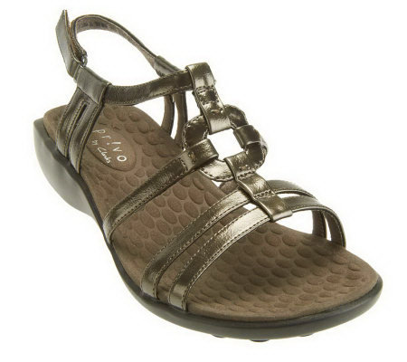 02f635eaefad Clarks Privo Zyon Sandals with Adjustable Strap - Page 1 — QVC.com