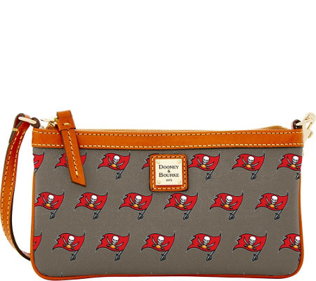 Dooney & Bourke NFL Buccaneers Large Slim Wristlet